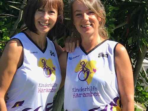 Läuferinnen für die Kinderhilfe Harambee