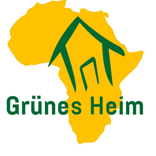 Logo Grünes Heim für afrikanische Kinder mit Behinderung